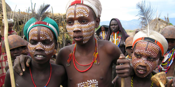 Hamer Tribal People, Omo Valley, Ethiopia